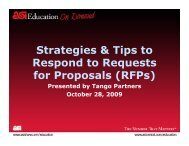 Strategies & Tips to Respond to Requests for Proposals (RFPs)