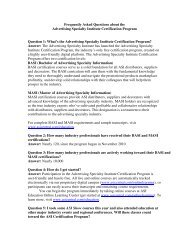 Frequently Asked Questions about the Advertising Specialty Institute ...