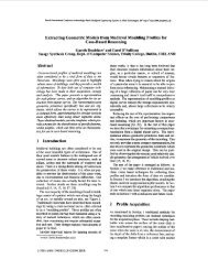 Extracting geometric models from medieval moulding profiles for ...