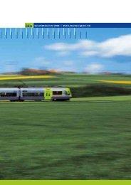 Geschäftsbericht 2002 • BLS Lötschbergbahn AG