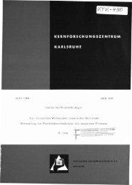 April 1966 Institut für Strahlenbiologie Zur ehemisehen ... - Bibliothek