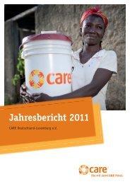 Jahresbericht 2011 - CARE Deutschland e.V.