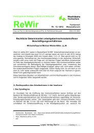 Ausgabe 12/2012 - Westfälische Hochschule, Fachbereich ...