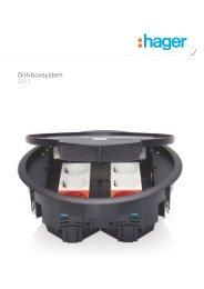 Golvboxsystem - Hager