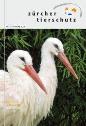 In diesem Heft: Jahresbericht - Zürcher Tierschutz