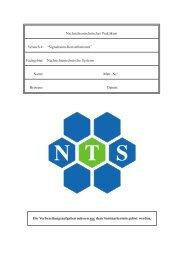 Signalraum-Konstellationen - Nachrichtentechnische Systeme, NTS