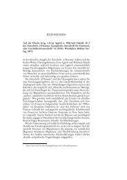 Rezensionen Nordost-Archiv 2005 Band 14 - Nordost-Institut