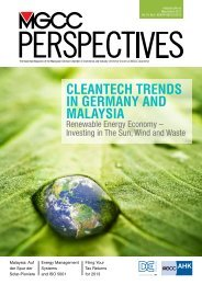 CLEANTECH TRENDS IN GERMANY AND ... - AHK Malaysia