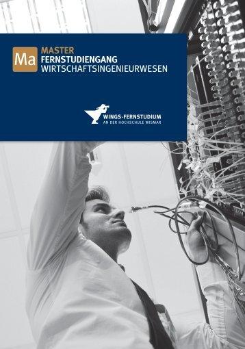 Studiengangsflyer (pdf) - Studieren in Deutschland [studieren.de]