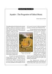 Jayadev : The Progenitor of Odissi Music