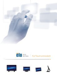 Touch-Lösungen - Elo Touch Solutions