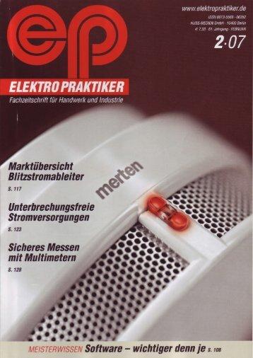 Marktiibersicht Blitzstromableiter Unterbrechungsfreie ... - PC-BÜRO
