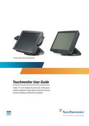 Touchmonitor User Guide for 1529L 15
