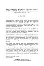 Talat Tekin, Makaleler 1 - Çukurova Üniversitesi Türkoloji ...