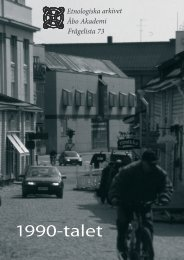 Frågelista 73 [pdf]: 1990-talet - Åbo Akademi