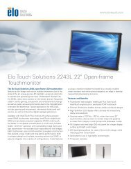 Elo Touch Solutions 2243L 22
