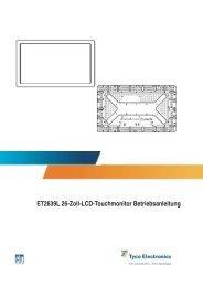 ET2639L 26-Zoll-LCD-Touchmonitor Betriebsanleitung