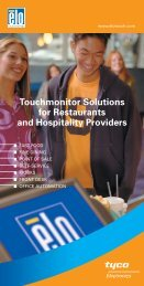 Brochure - Elo TouchSystems