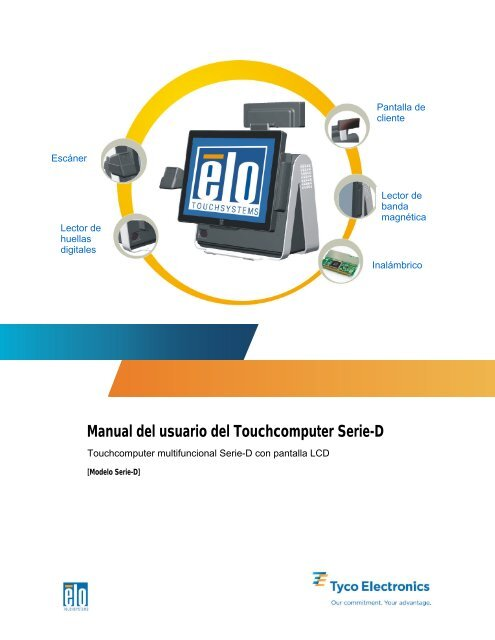 Manual del usuario del Touchcomputer Serie-D