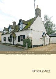 clover cottage | 3 talls lane | fenstanton - Fine & Country