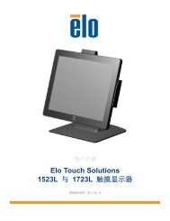 1723L - Elo Touch Solutions