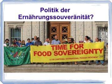 Franziskus Forster - rvfoodsovereignty