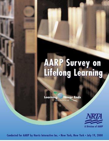AARP Survey on Lifelong Learning