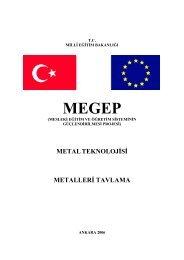 13 Metalleri Tavlama - Milli Eğitim Bakanlığı