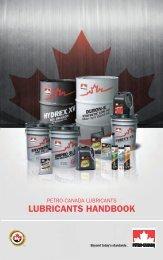 2013 Petro-Canada Lubricants Handbook