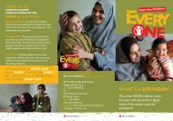 Download Every One Campaign in Egypt Brochure - Save the ...