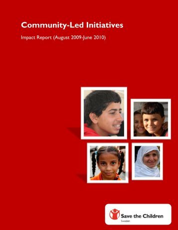 Community-Led Initiatives Report - Save the Children Sweden's