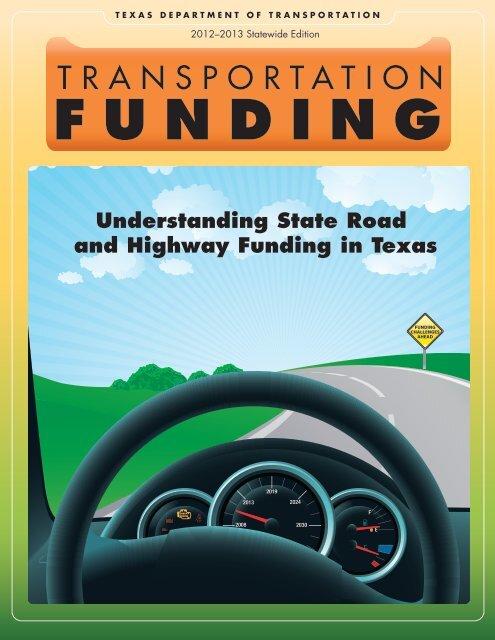 Understanding State Road and Highway Funding in Texas