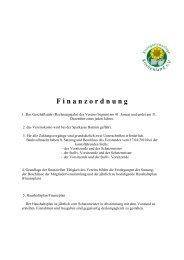 Finanzordnung