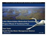 Lake Okeechobee Watershed Construction Project Phase II ...