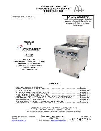 8196275 - Frymaster