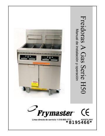 freidoras gas - Frymaster
