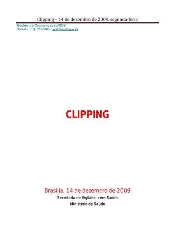 CLIPPING - Ministério da Saúde