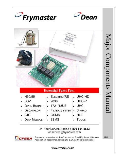 FRYMASTER 8073485 Thermopile,Generator W//adapter