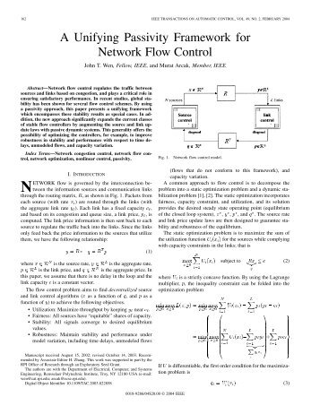 A Unifying Passivity Framework for Network Flow Control