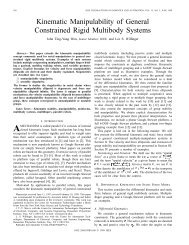 Kinematic manipulability of general constrained rigid multibody ...