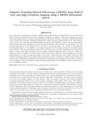 Adaptive Scanning Optical Microscope (ASOM) - Rensselaer ...