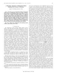 A Path Space Approach To Nonholonomic Motion Planning In The ...