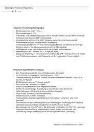 Allgemeine Anstellungsbedingungen: - Mtl. Bruttolohn z.Z. CHF 1 ...