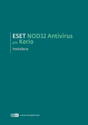 ESET NOD32 Antivirus pro Kerio Connect