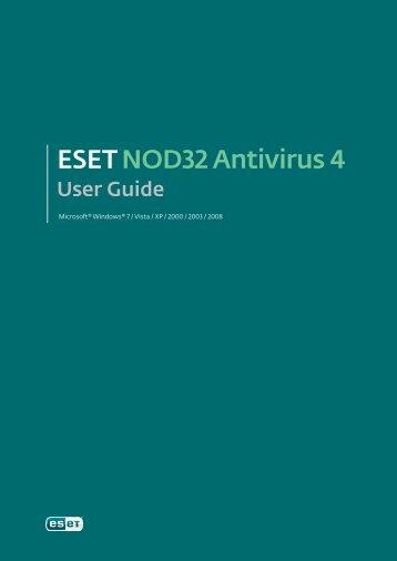 User Guide - Eset