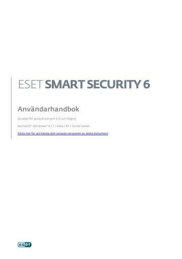1. ESET Smart Security 6