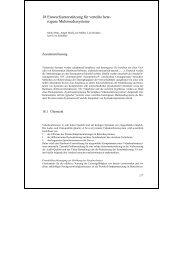 Entwurfsunterstützung für verteilte heterogene Multimediasysteme