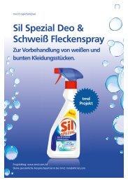Sil Spezial Deo & Schweiß Fleckenspray Zur ... - trndload