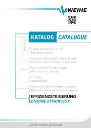 mit Weihe Engine Efficiency (WEE) - Weihe GmbH