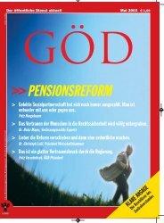 Ausgabe 5/2003 - Gewerkschaft Öffentlicher Dienst